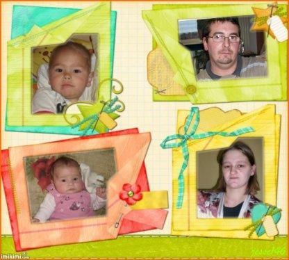mon homme mes deux enfants et moi