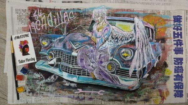l ange à la 54