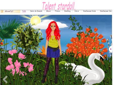 Talent Stardoll.