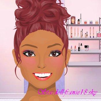 Maquillage pour le concours