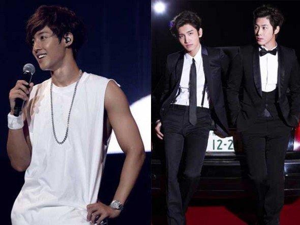 Japon : les albums de Kim Hyun Joong (SS501) et TVXQ disques d'or