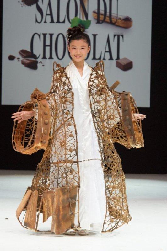 France : Kim Yu Jeong était présente au salon du chocolat de Paris !