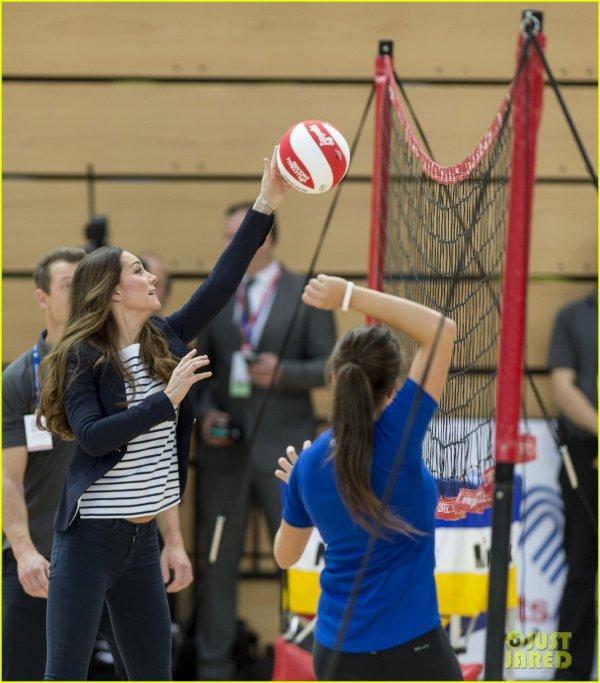 Duchess Catherine - Volley Ball