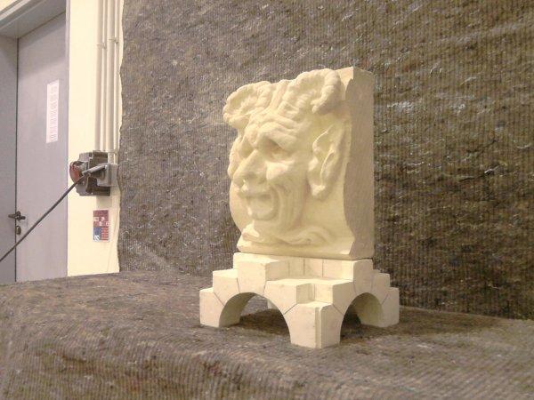 Dernière étape : La sculpture / Le Satyre
