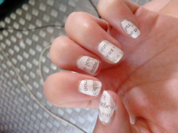 Nail-art New paper