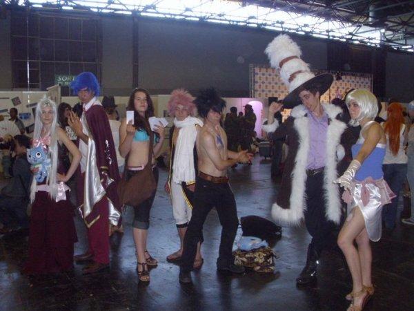 Groupe Fairy Tail - Japan Expo 2011 - Vendredi et Dimanche !