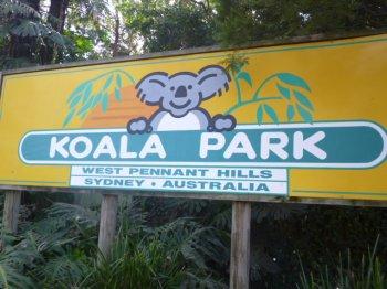 • Koala Park avec les enfants •