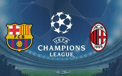 Barcelone vs Milan AC