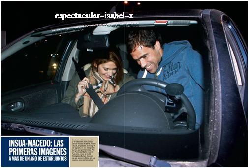 Photos d'Isabel et Federico pour Caras
