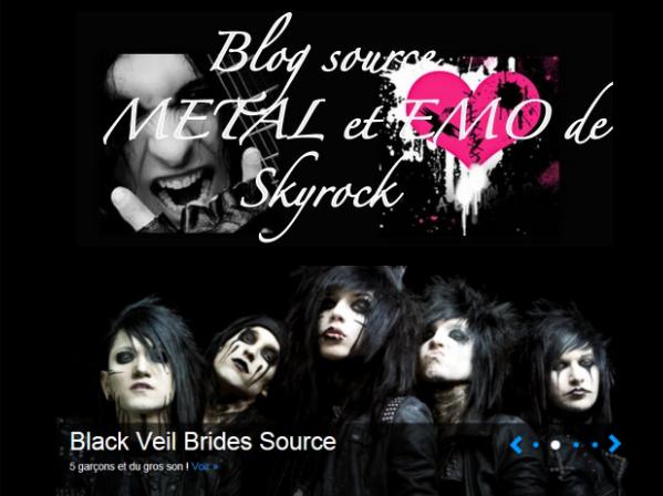 Bienvenu sur LE skyrock officiel des Black Veil Brides