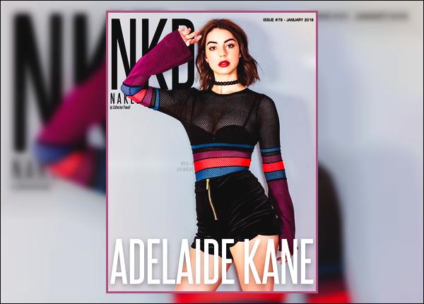 .  ♦◊♦Découvrez unshooting deAdelaidepour le magazine«NKD» du mois de janvier 1018. .