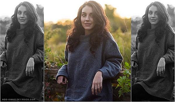 . 04/11/16 : Une nouvelle photo de Adelaide Kane pour le shoot fait par Jordan Harvey ! (Fait le 20/10) .