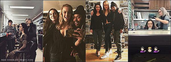 . Nouvelles photos personnelles de notre superbe Adelaide Kane avec le cast de Reign ! .
