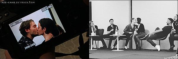 . 08/01/16 : Découvrez les photos du deuxième jour de la Long Live The Queen Convention ! Adelaide et Tobyse sont embrassé ainsi queRachel et Ady se sont embrassées. .