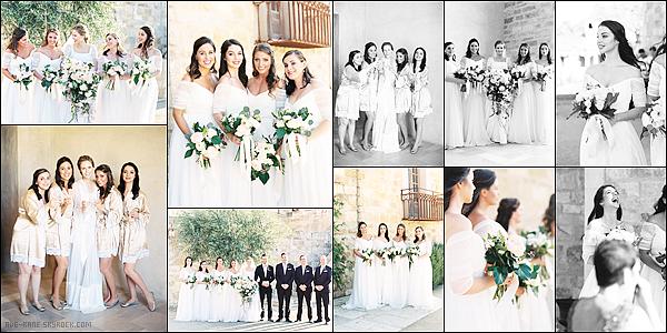 . 02/04/16 :Adelaide était présente au mariage de Torrance Coombs et Alyssa Campanella. .