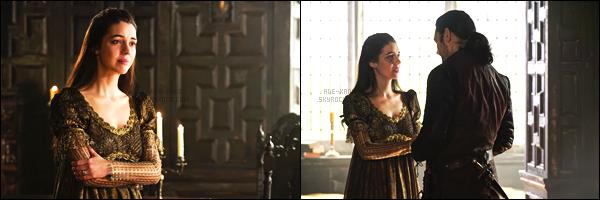 """. Découvrez les premiers stills du 4x16 """"All it Cost Her"""" de Reign + le vidéo promo ! Cette épisode 4x16 est l'épisode finale de la série Reign !  ."""