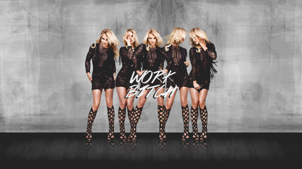 Britney Jean / Work Bitch (2013)