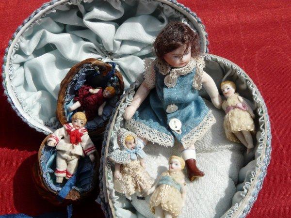 poupées mignonnettes Carl Horn XIXe s