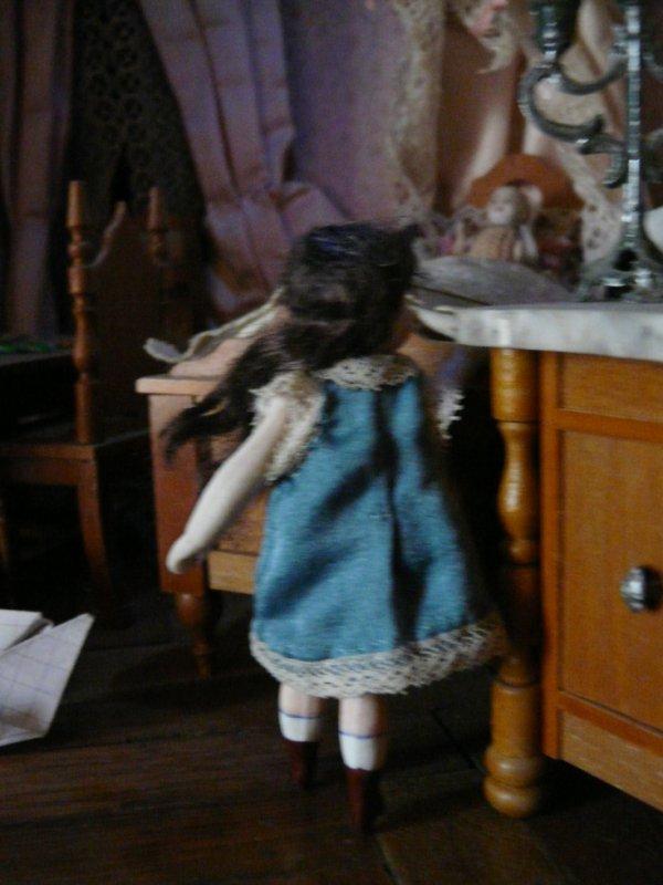 robe poupée mignonnette en soie