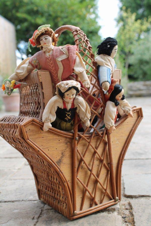 poupées chiffon 1940/1950