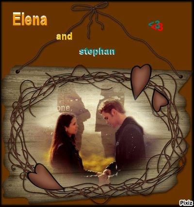Elena and stephan ! <3