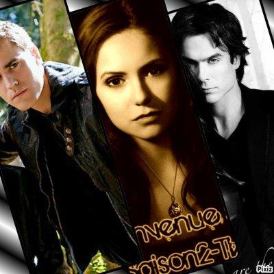 Trio les freres salvator et Elena ! <3