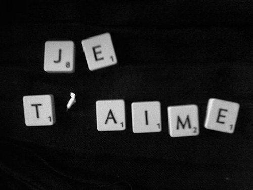 Je t'aime :$