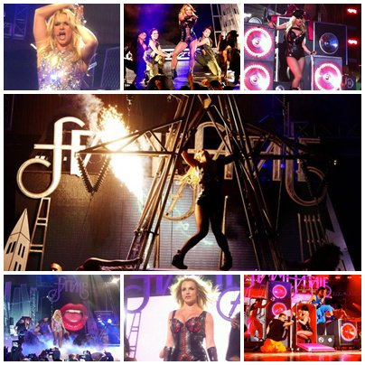 Britney au Club Rain à Las Vegas + Good Morning America + Jimmy Kimmel