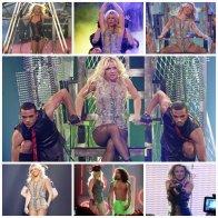 Britney au Club Rain à Las Vegas + Good Morning America + Jimmy Kimmel