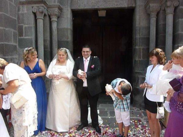 lacher pour mariage le 15 AOUT 2015