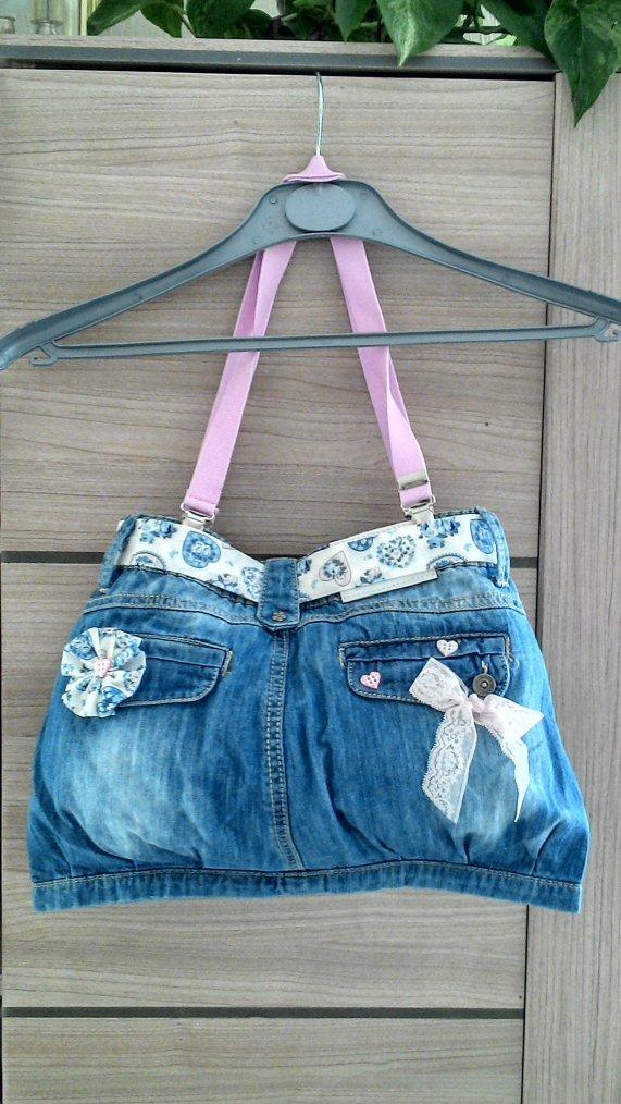 "Sac en Jeans "" ROSA """