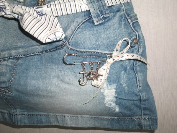 Sac en Jeans Marine