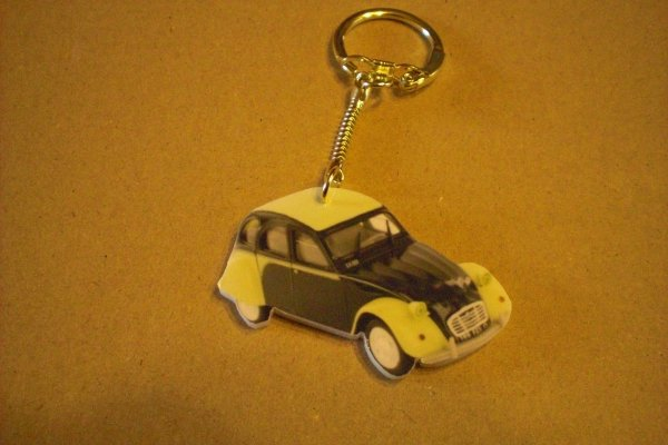 PORTE CLE 2CV DOLLY
