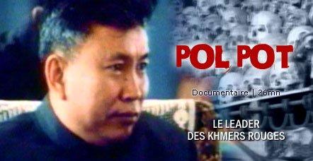 Pol pot a la mémoire du grand libérateur