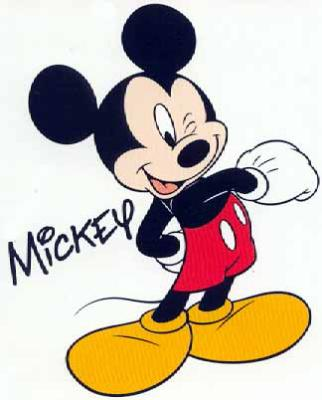 Mickey Mouse Dessin Simple