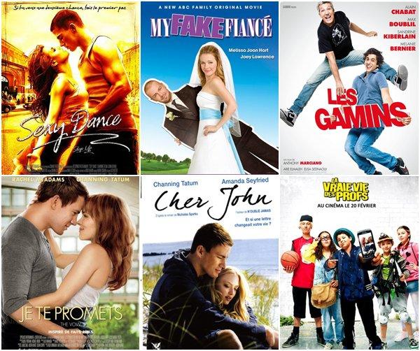 Top 6 des films dispo' sur yt.