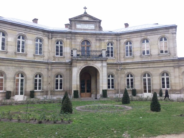 L'ancienne école des Petits Chanteurs, à Paris.