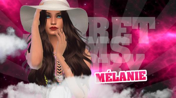 Mélanie, 2ème candidate officielle !