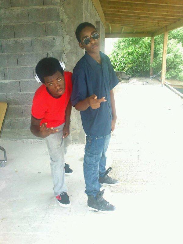 mon grand frère et moi