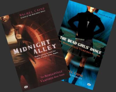 The Morganville Vampires 2 : the Dead Girl's Dance, Rachel Caine __★★★★★ Tome 1, tome 2, tome 3, tome 4, tome 5, tome 6, tome 7, tome 8