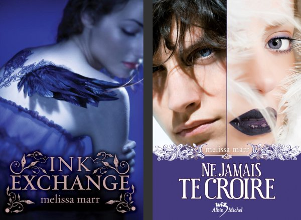 Ink Exchange – Melissa Marr ___★★★★★ Tome 1, tome 2, tome 3, tome 4
