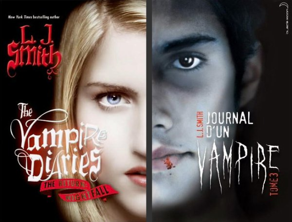 The Vampire Diaries, the Return: Nightfall / Journal d'un vampire 3 – Lisa Jane Smith ___★★★★★ Tome 1, tome 2, tome 3
