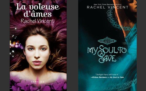 Les Voleurs d'Âmes 2 : La Voleuse d'Âmes ___★★★★★ Soul Screamers 2: My Soul to Save, Rachel Vincent tome 1, tome 2, tome 3