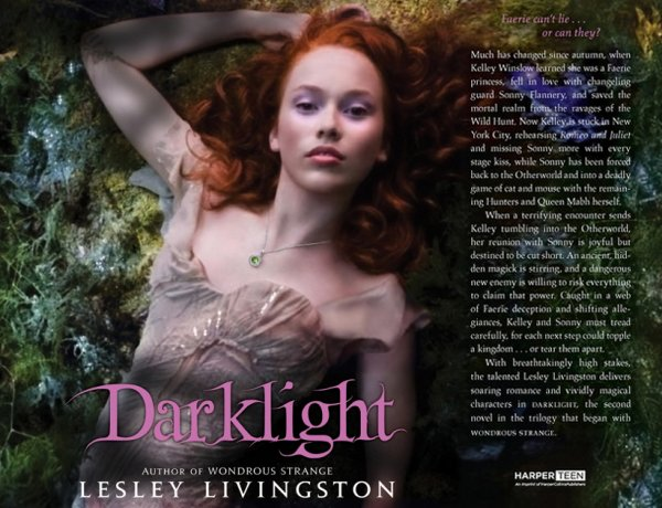 Wondrous Strange tome 2 : Darklight de Lesley Livingston ___★★★★★