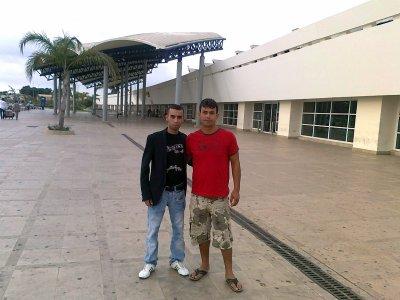 Io mostafa a l'aeroporto di med v 08.2010