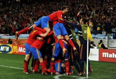 Les matchs de la Roja.