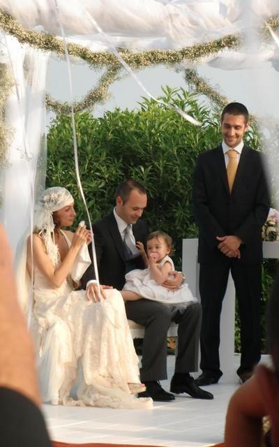Le mariage d'Andres Iniesta et d'Anna Ortiz
