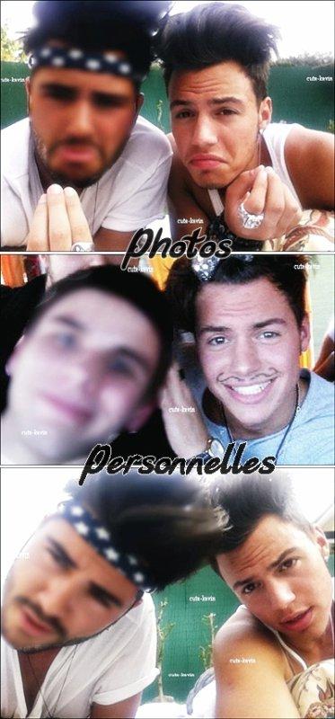 Photos personnelles de Kévin , elles ne viennent pas de son Facebook , sur la première et la troisième photos c'est Kévin et son cousin et sur la deuxième photo c'est un ami à lui , très belles photos :)