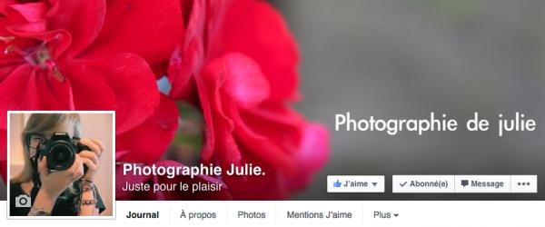Ma page sur la Photographie