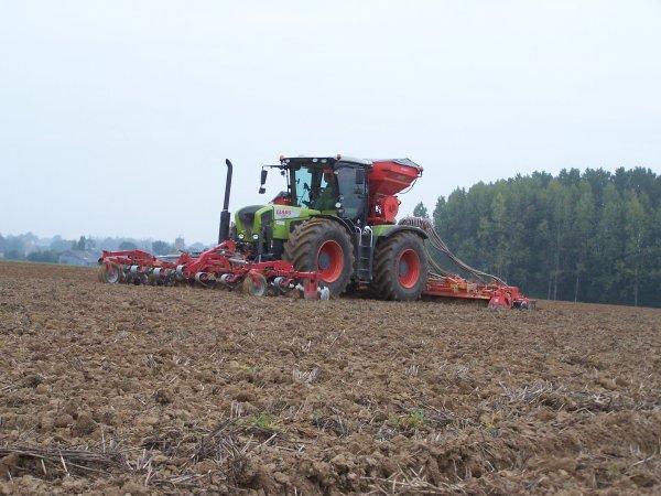 Semi de blé 2010 !